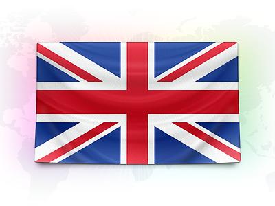Stripe in the UK flag union jack