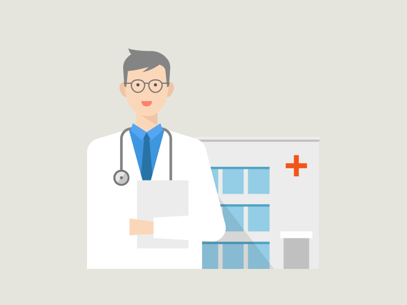 Doctor doctor illustration vector character