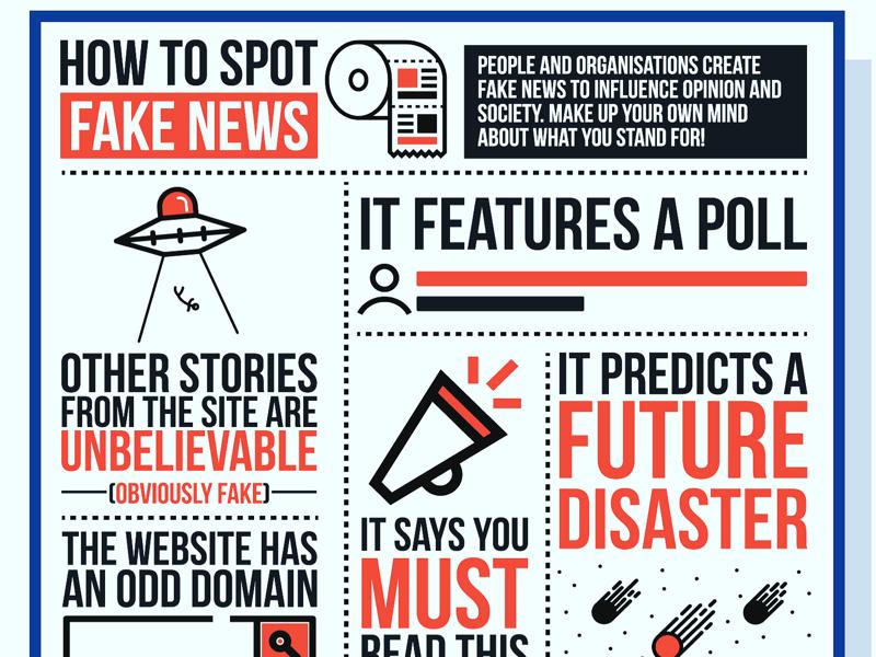 Fake news! illustrator education design