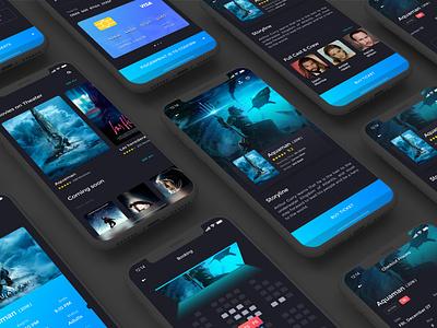A Movie App -2 ux  ui app ux design ux ui ui  ux design uidesign movie card movie booking movie app movie design