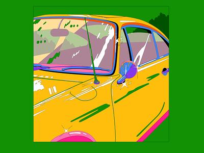 Glitter graphic shinning reflection car glitter