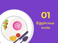 Eggilicious Dribbble Invite