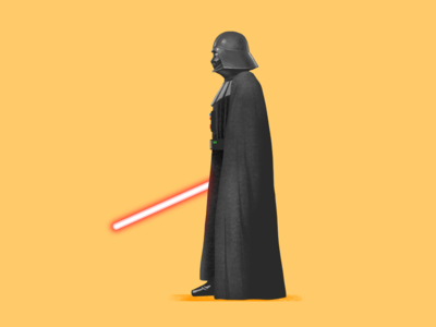 Darth Vader procreate star wars starwars vader darth darth vader illustration fanart digital character