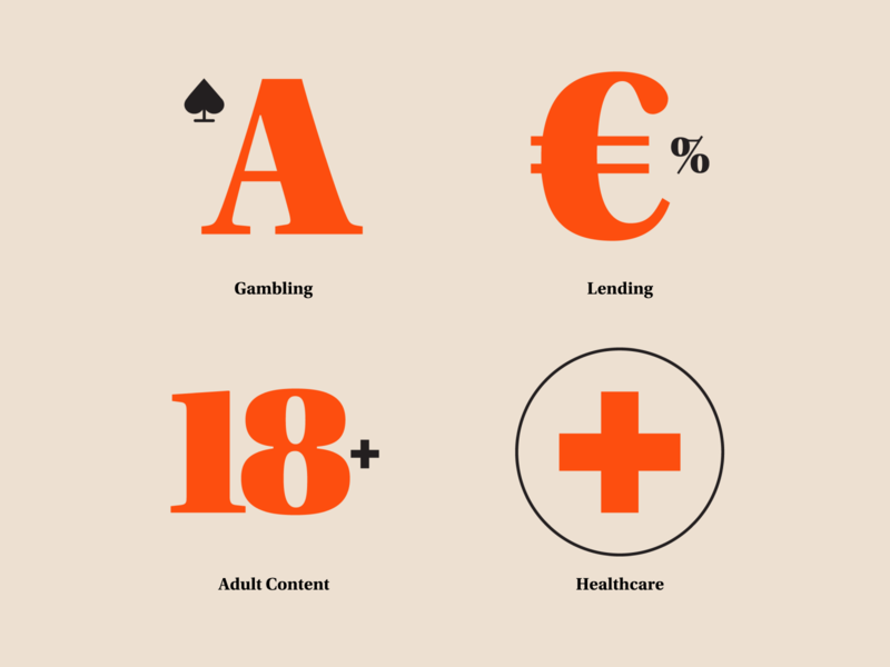 The no-no's of SMS marketing icon healthcare adult lending gambling blog icons content marketing minimal vector design