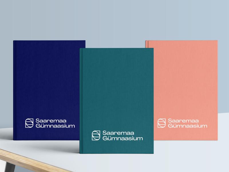 Saaremaa Gümnaasium School Diary clean ui design minimal