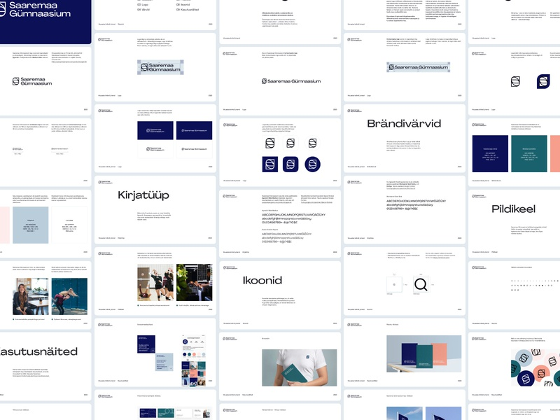 Visual Identity Guidelines brand typography design web clean minimal branding logo visual identity guideline brandbook