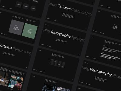 Geomining Styleguide brandbook styleguides guideline visual identity logo branding ui illustration minimal clean design typography brand