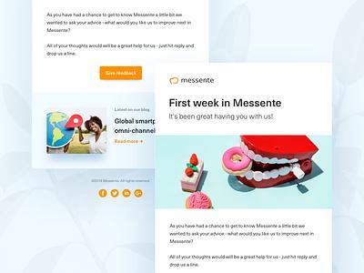 You got mail ✉️ notification news corporate uiux web template e-mail