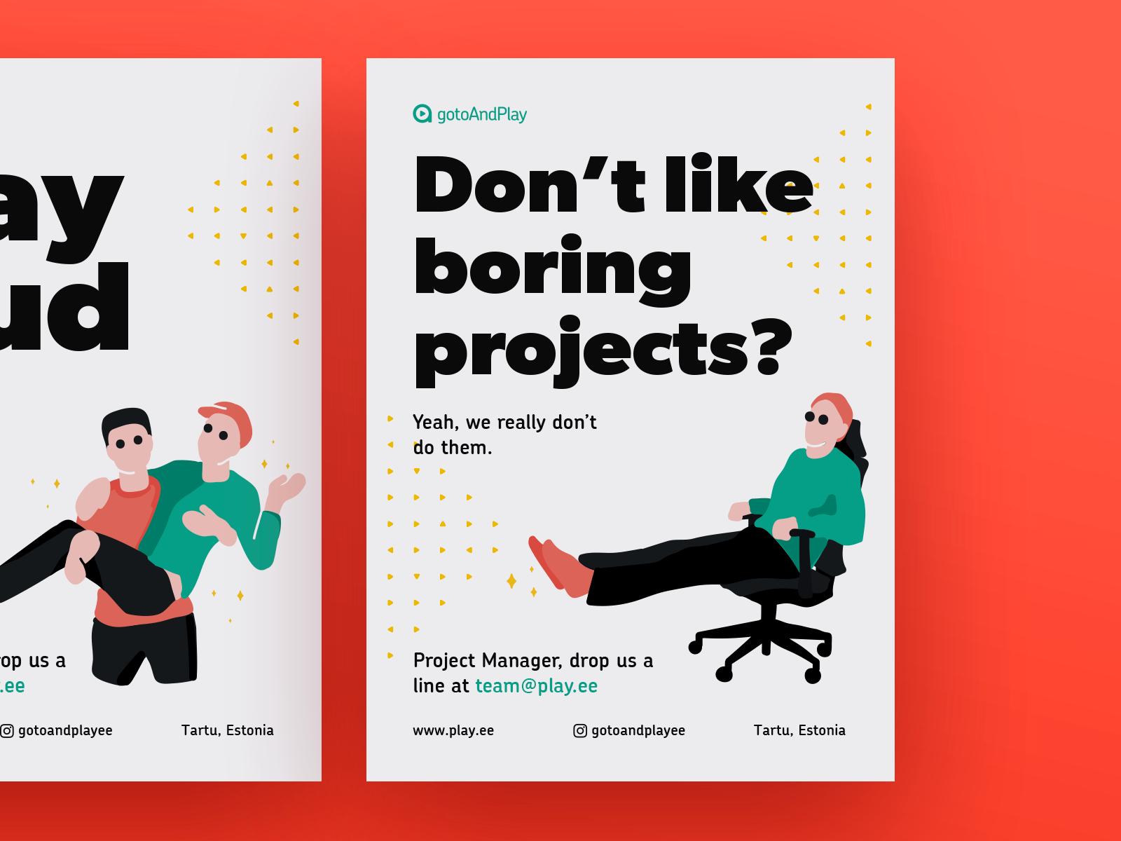 Gtap job posters