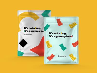 It's not a bug, it's a gummy bear!