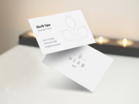 🌿 Spa business cards