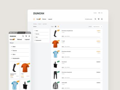 Duncan shop