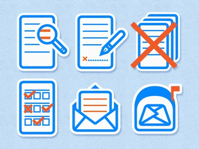 eBlast Icons