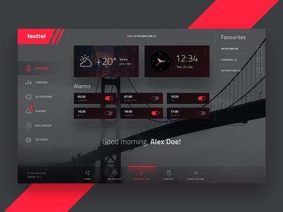 App Dashboard dark interface icons ui ux dashboard app