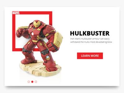 Day 27 - Hulkbuster Card