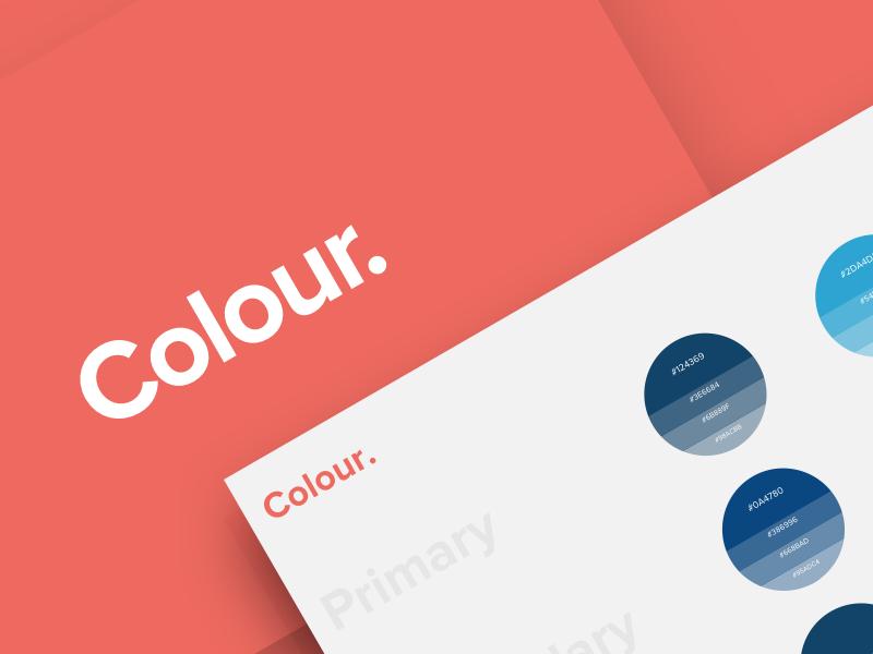 PNI Style Guide web ui guide style palette colour design color evolution brand media digital