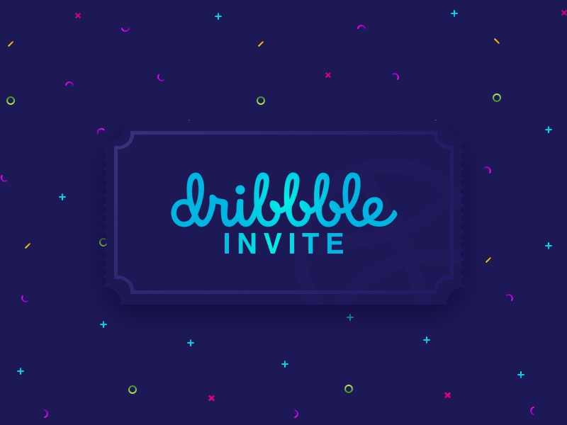 Invite Giveaway design ui vector pixel logo invite icon giveaway game draft clear