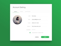 Day 73 - Account Settings