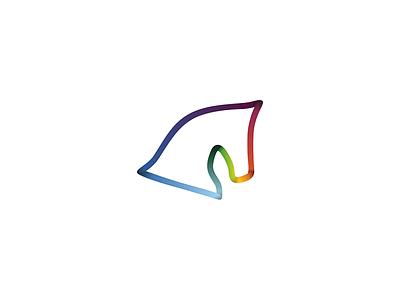 Dizaino Arkliukas logo logo horse color head brand loop web agency design