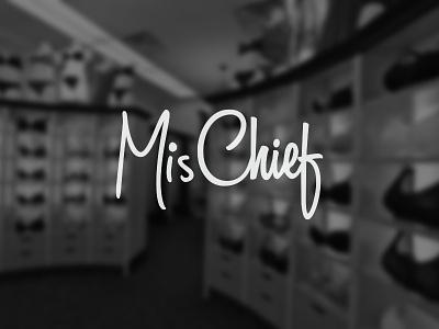 MisChief logo brand logotype typo typography underwear