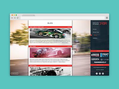 Petronis Drift drift web ui singlepage website web design site