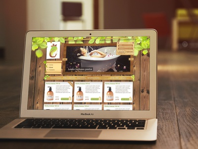 Gyyyva web web site ui eco handmade parfume handcream cream ecommerce