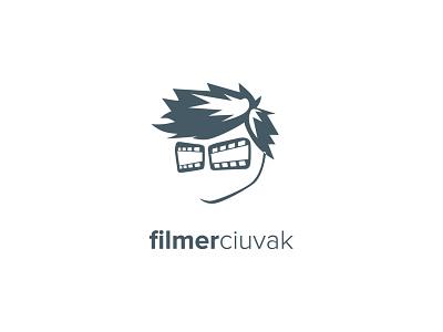 filmerciuvak logo video movie film films face hair