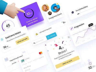Lepermislibre Dashboard Components 💙 uiux charts uielements designsystem uikit dashboard ui lepermislibre