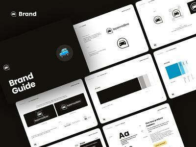 Brand Guide 🖤🚙 identity guide lepermislibre logo brandguide guideline brand branding