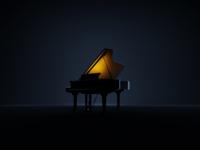 Walker Piano Concept Render