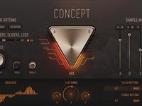 Unusual Audio Knob Concept
