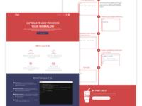 Gulp - Website redesign