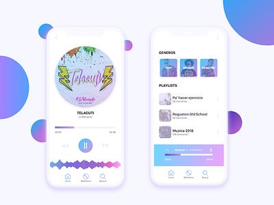 Music App Interfaces mobile design music player interface user ui music mobile app