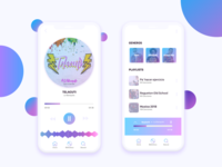 Music App Interfaces