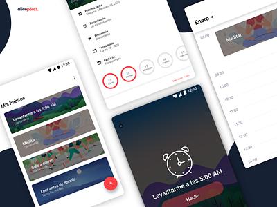 Habits APP habit tracker app habits