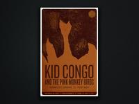Kid Congo Gig Poster