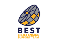 BizJet Engine Support Team Logo
