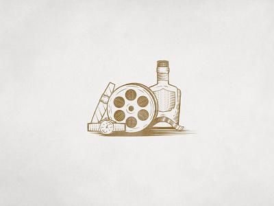 Criticist Illos etch booze illustration