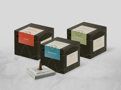 Zouz Incense branding packaging branding design incense