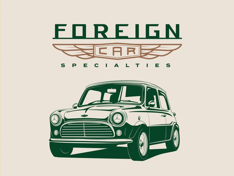 Foreign Car Specialties minicooper motosport motors vintage car