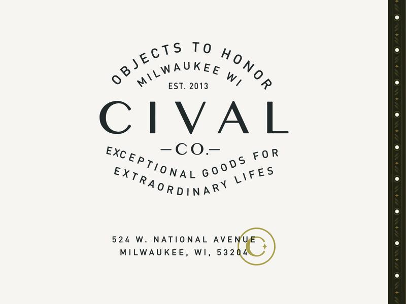 Cival Collective branding