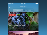 HabitsUp iOS7