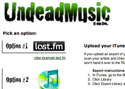 undead music music api amateur