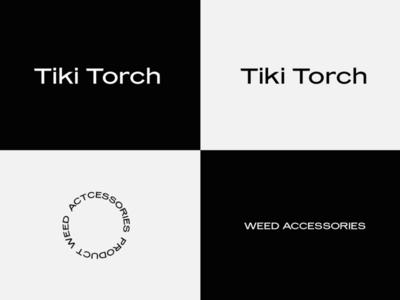 tiki torch cannabis logo