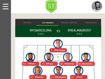 Soccer Statistics App