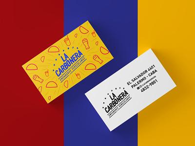 La Carbonera Rebranding buenos aires venezuela fast food empanadas restaurant food
