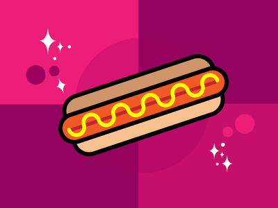 Hot Dog sausage pizza doughnut cupcake conference coaster cheeseburger cheese bacon hotdog