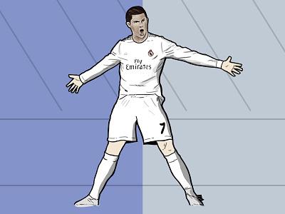 Cristiano Ronaldo ronaldo cr7 real madrid sports trophy cup soccer football world cup