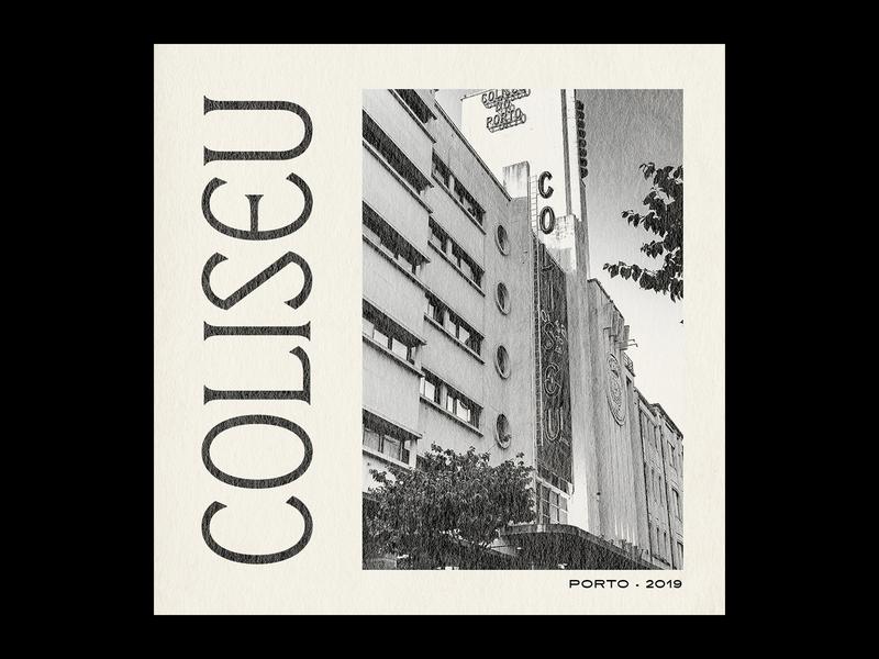 Coliseu Custom Type typedesign type typography design