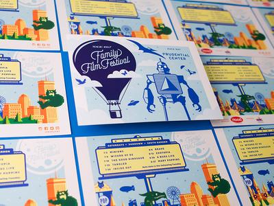 Family Film Festival Postcards